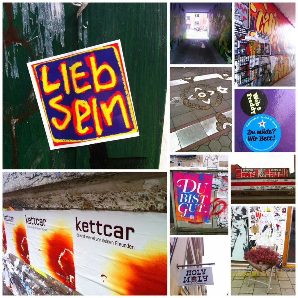 Streetart Collage Hamburg 2