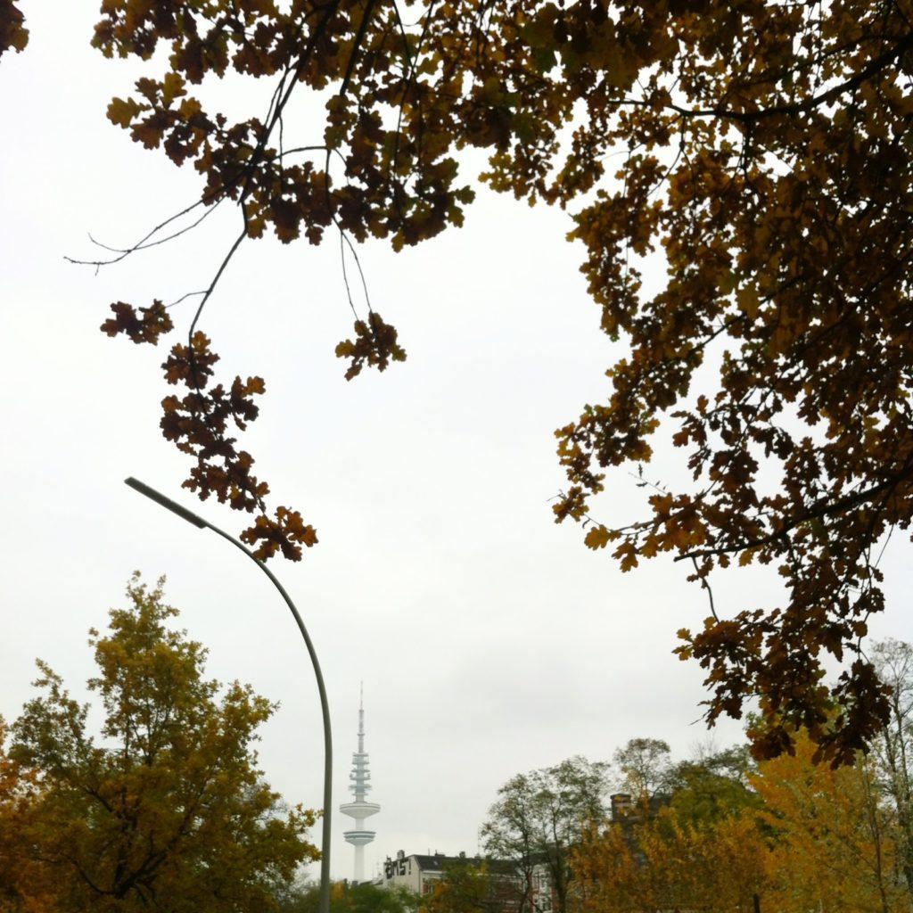 Fernsehturm Hamburg Herbst