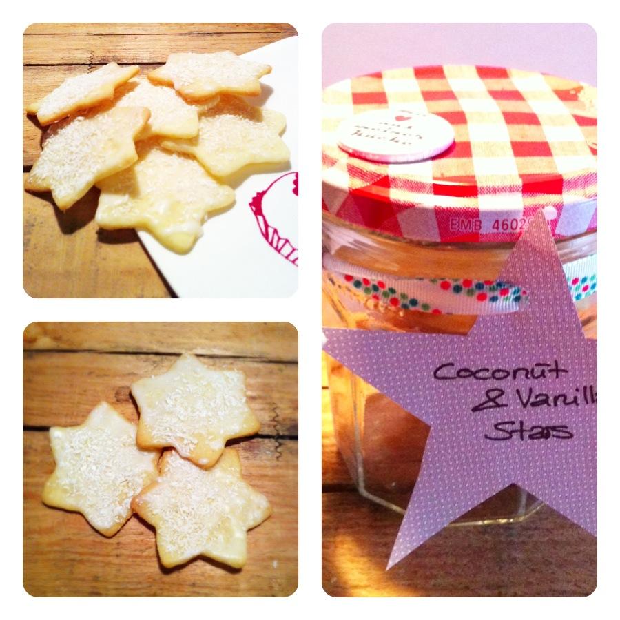 Coconut & Vanilla Blog-Kekse