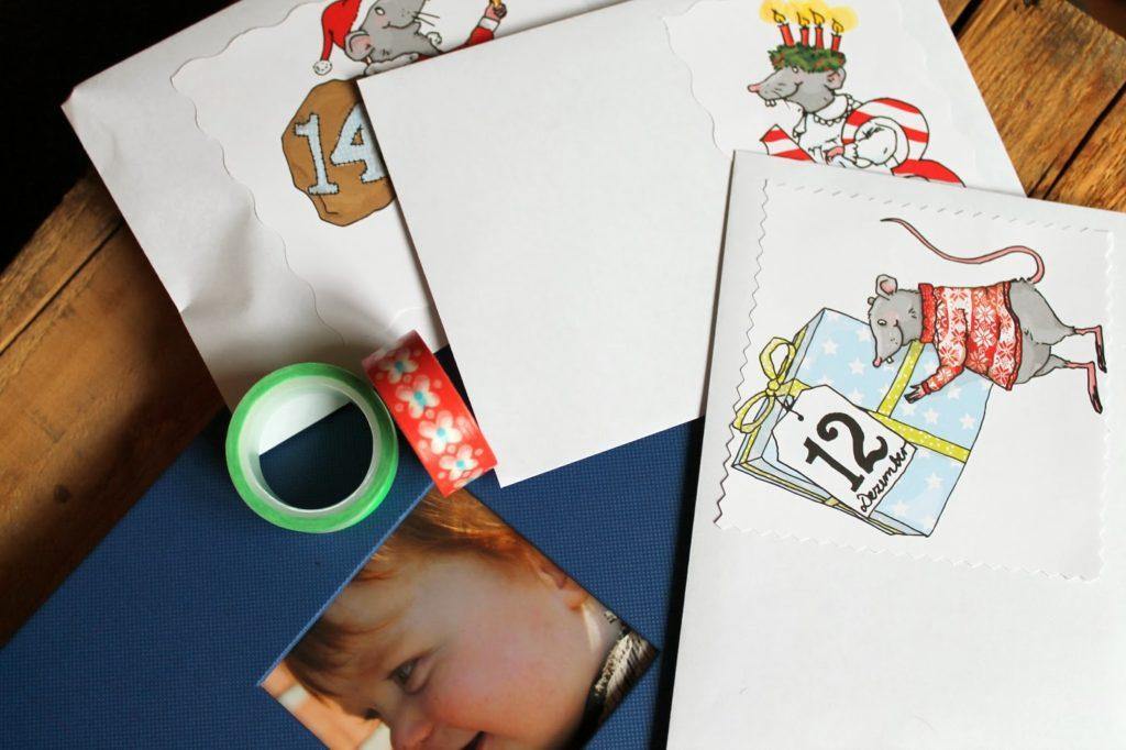 DIY Adventskaelnder für Kinder