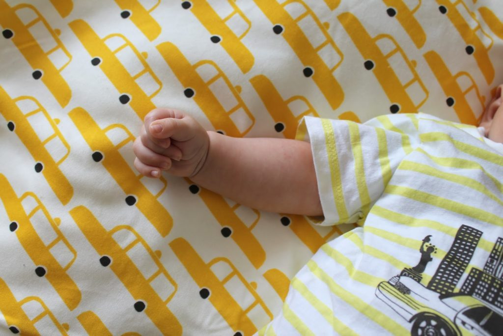 Name it T-Shirt New York Baby-Blanket Yello Cabs