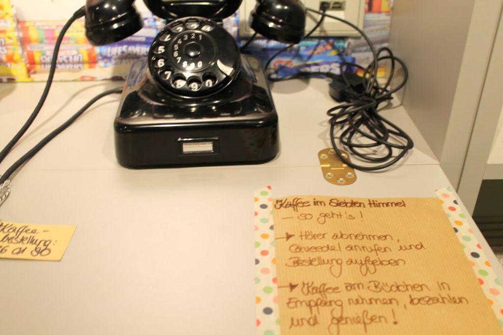 Bestellung fuers Caveedel mit funktionierendem Telefon