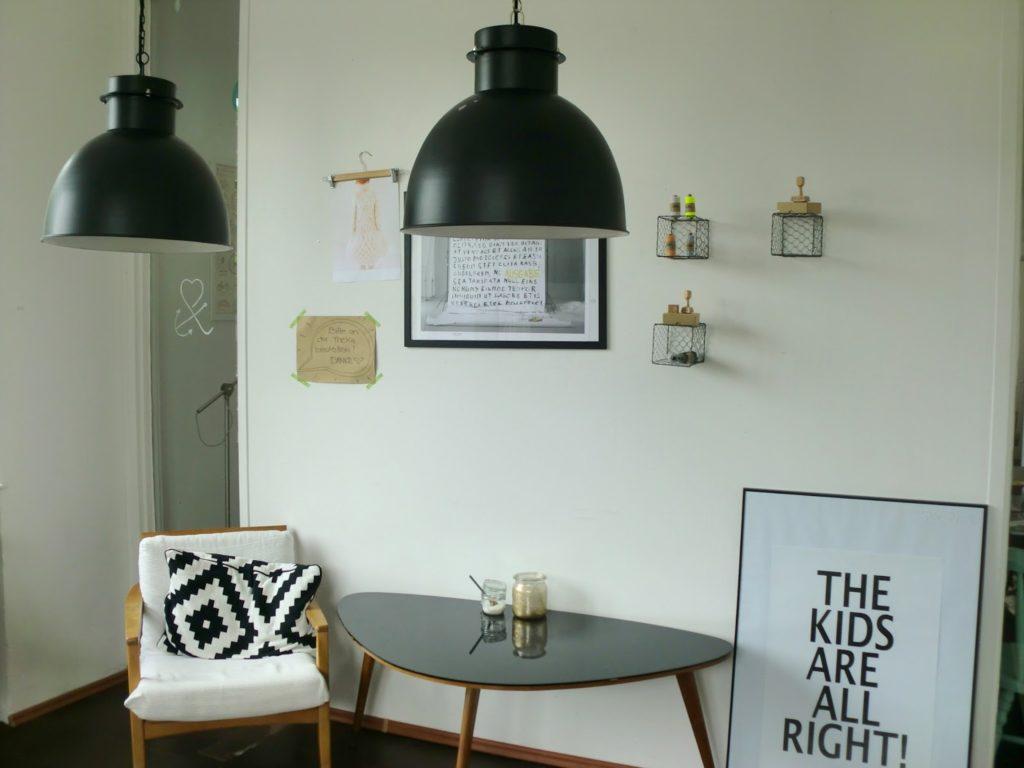 Industrielampen Cafe Feingemacht
