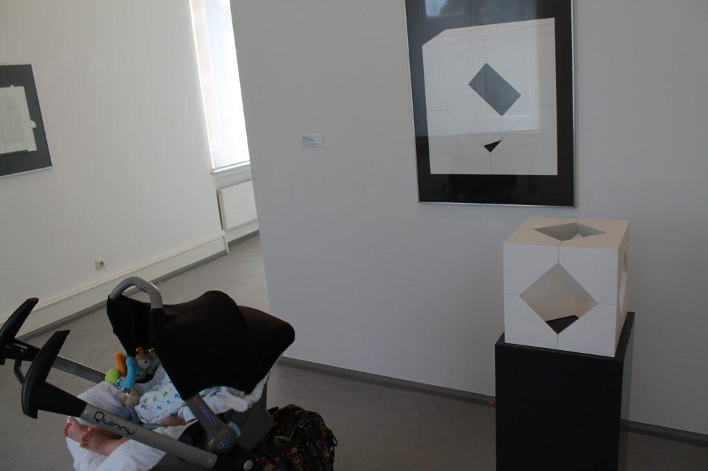 Mit Baby durchs Museum Villa Zanders