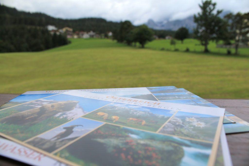 Postkarten schreiben nicht nur aus dem Urlaub