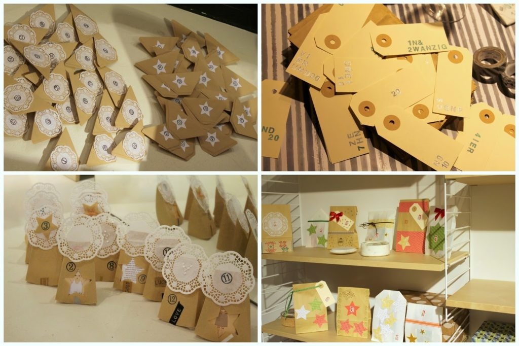 Adventskalender basteln DIY how we live