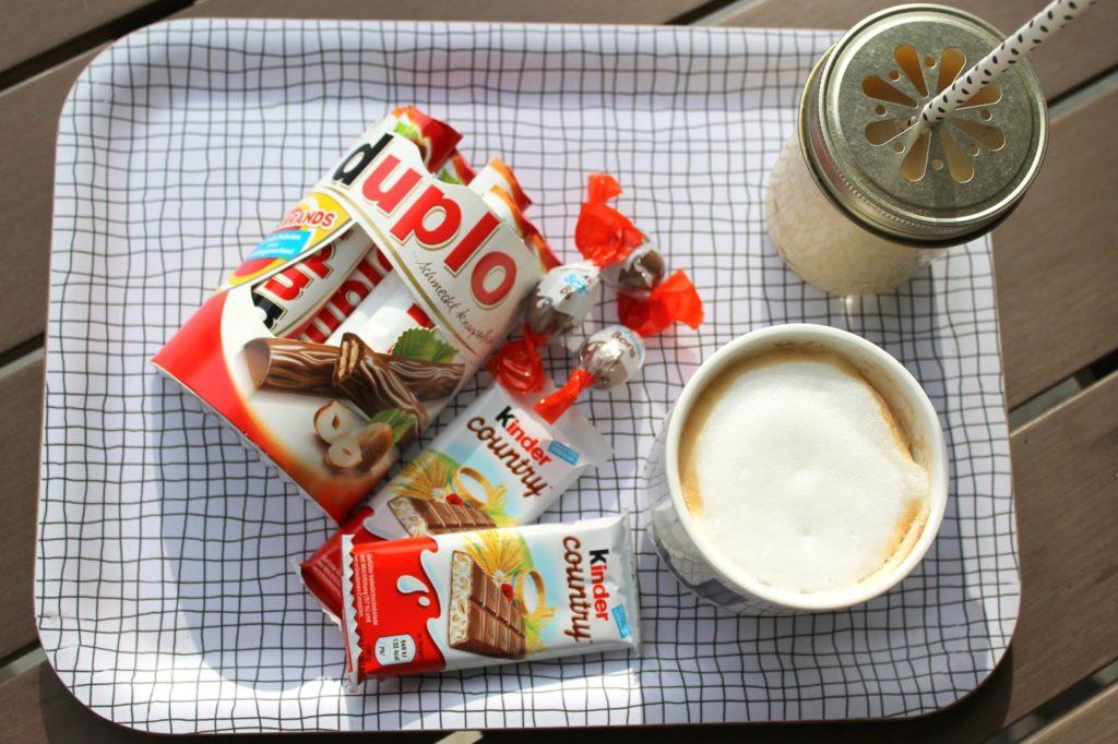 Nervennahrung kinder duplo Kaffee Milchshake Tablett