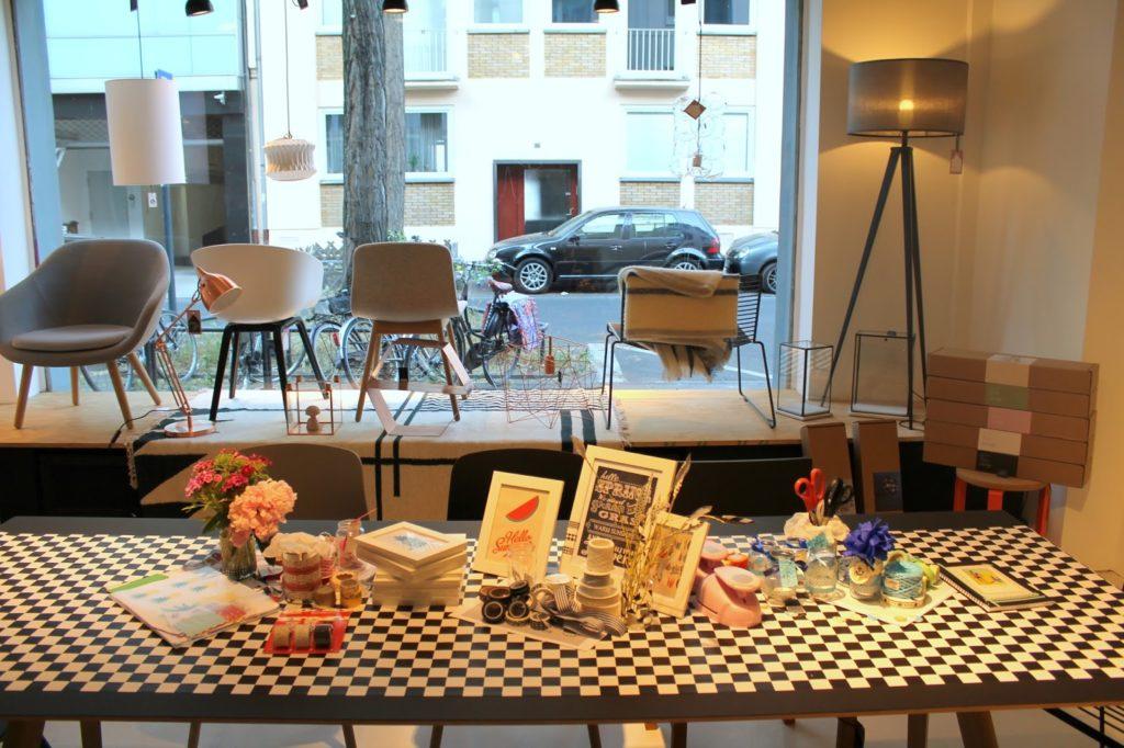 DIY Workshop Hay Tisch bei How we live Koeln