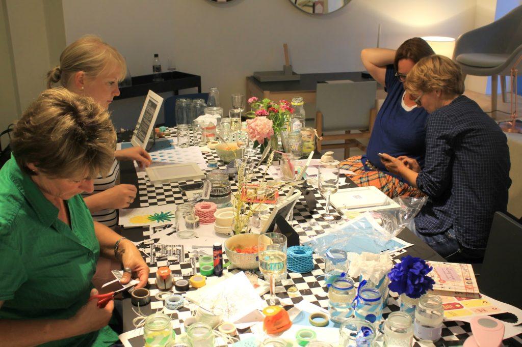 DIY Workshop mit Masking Tape bei How we live Koeln