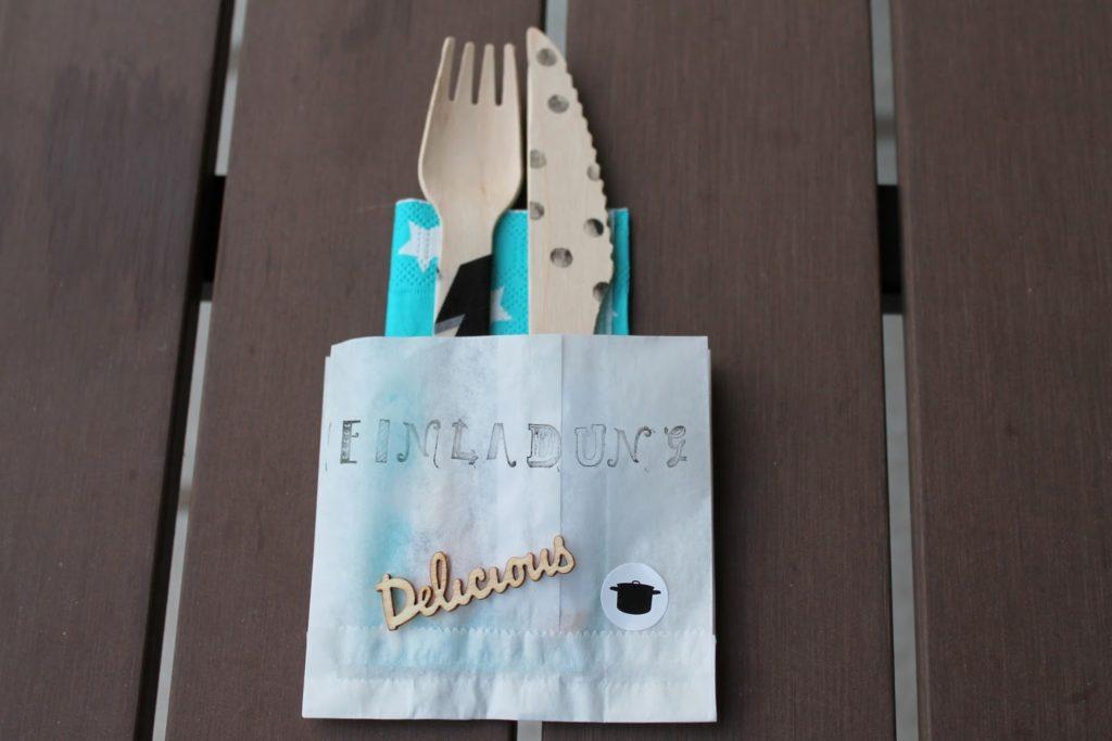 Einladung DIY Grillparty Sommerfest Einweihungsparty Haus