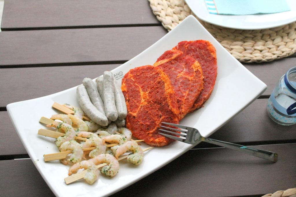 Grillplatte Surf and Turf