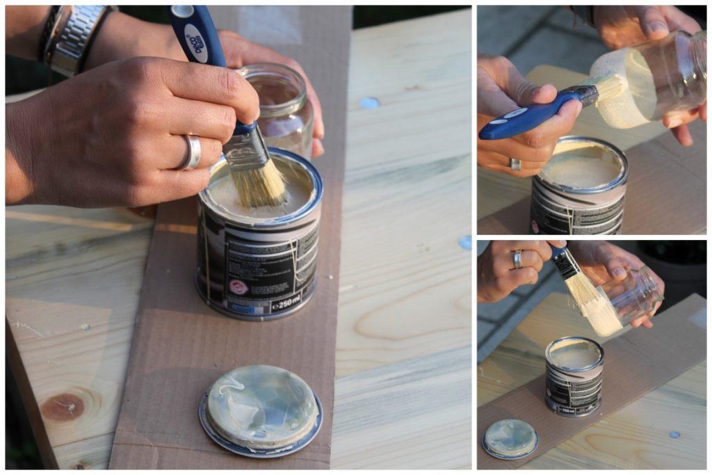 DIY Upcycling Vasen Anleitung Farbe 1000 gute Gruende