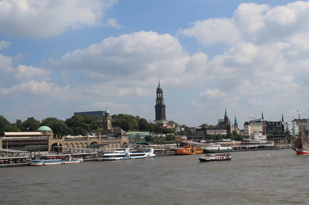 Hamburg Skyline Michel