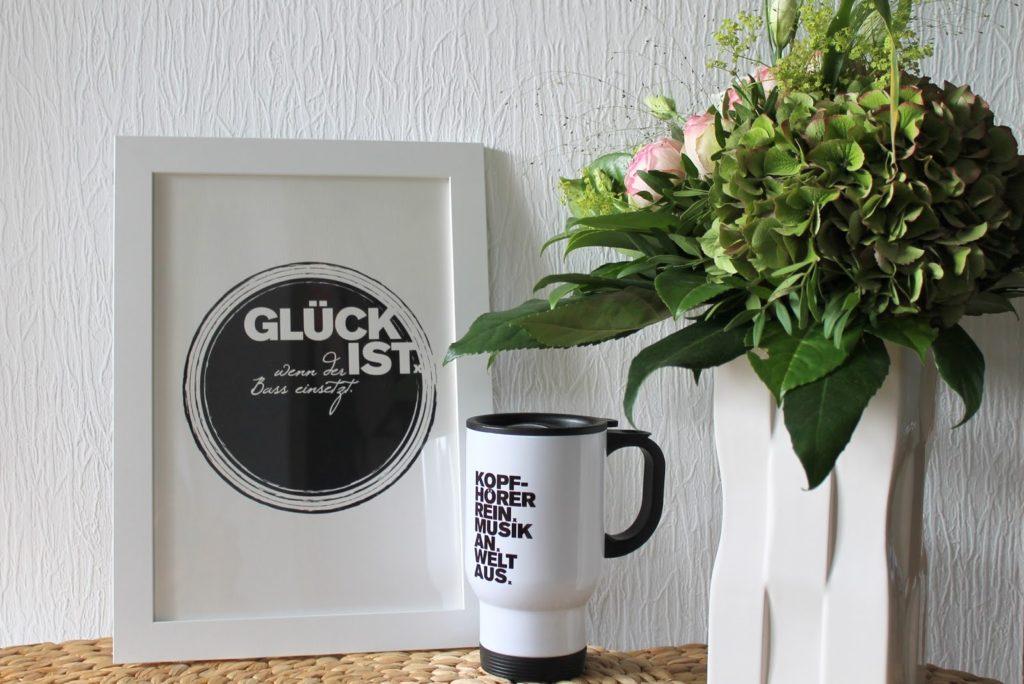 Formart Musikliebe Print Kaffeebecher