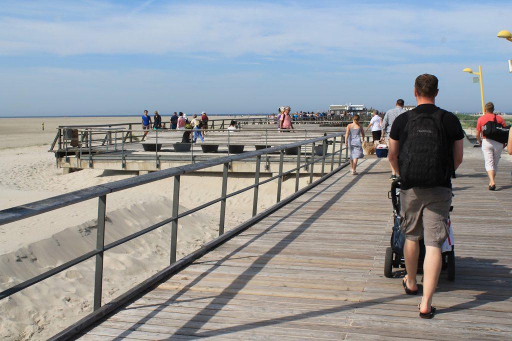 St Peter Ording Strand Duenen