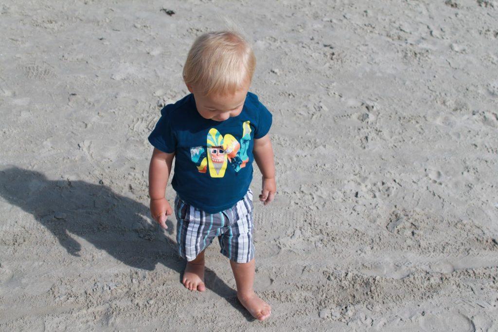Der Neue am Strand