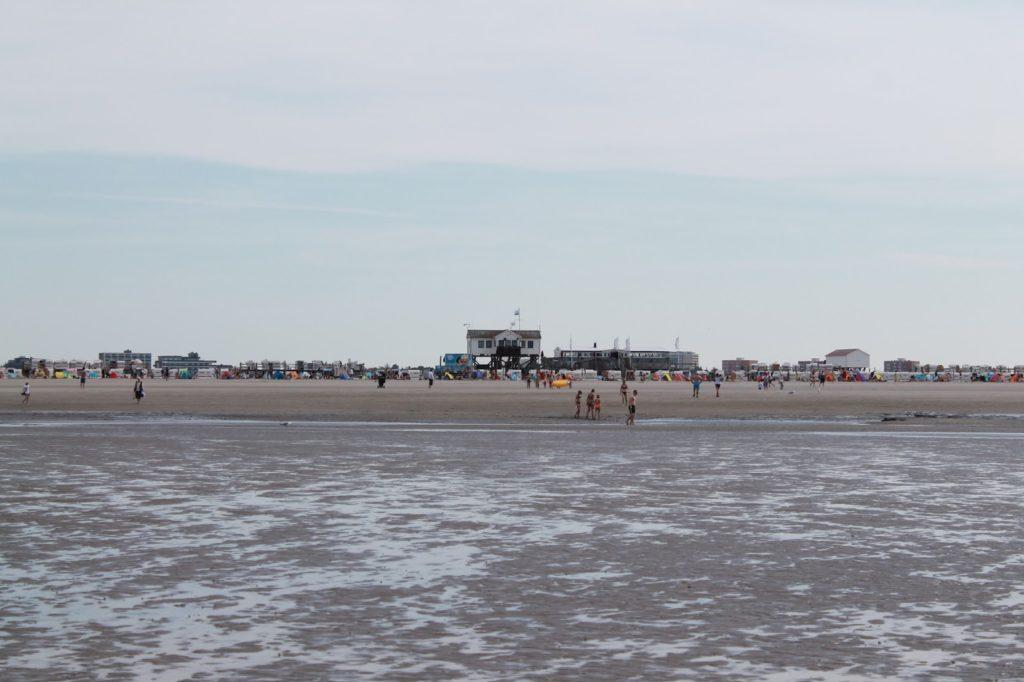 Meer Strand St Peter Ording