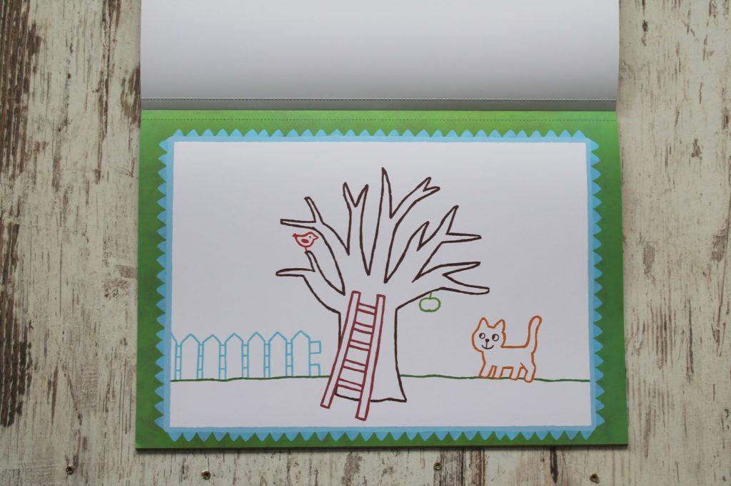 Mini-Kuenstler Stempel-Malbuch