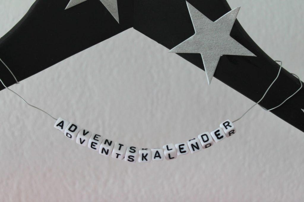Adventskalender Buchstabenperlen