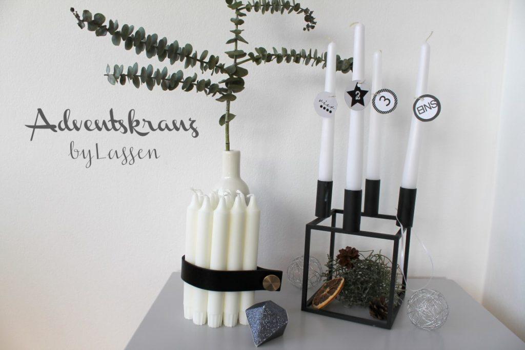 Adventskranz Kubus4 byLassen