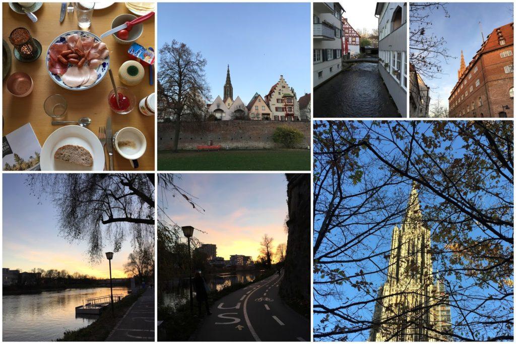 Ulm Besuch Frau Heuberg