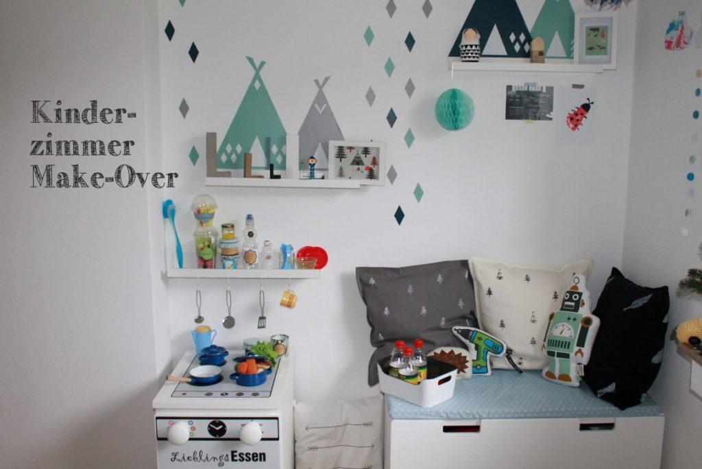 Kinderzimmer Makeover Weihnachten