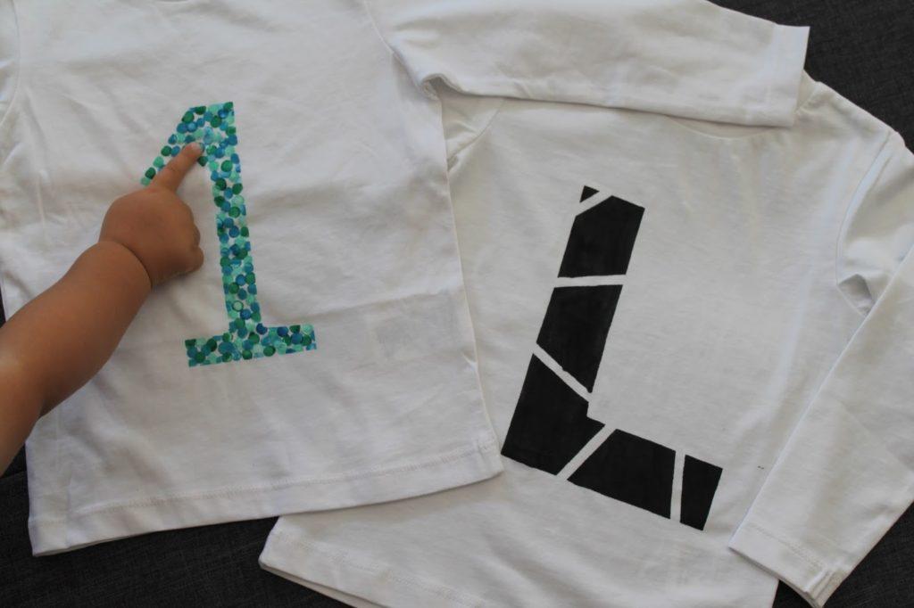 DIY Kinderkleidung Geometrie Look