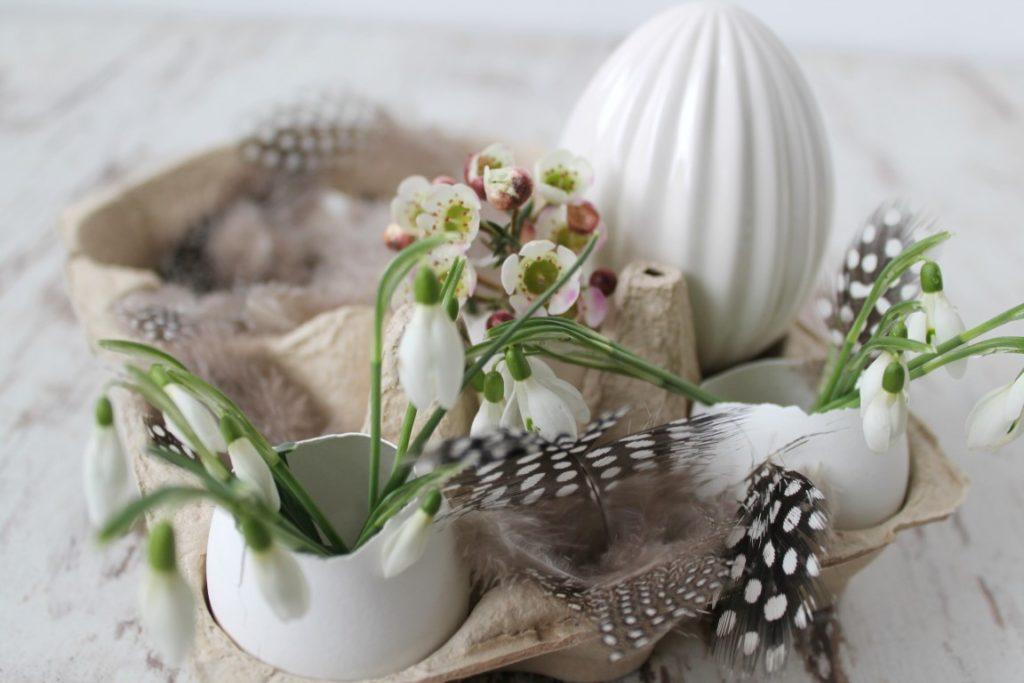 Ostergeschenk Ostern Im Eierkarton Eierschalen