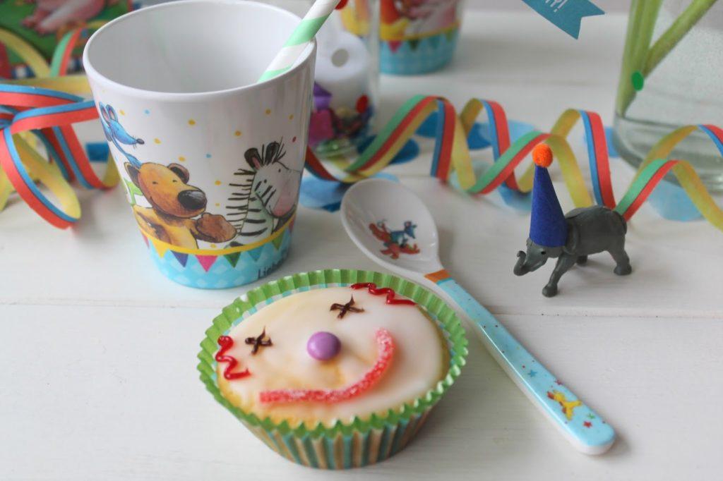 Clown Muffins Zirkus Party Kindergeburtstag