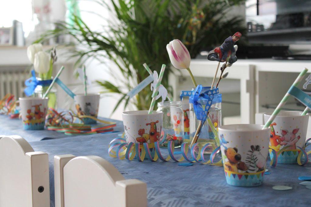 Kindertisch Tischdeko Zirkus Kindergeburtstag Motto Party