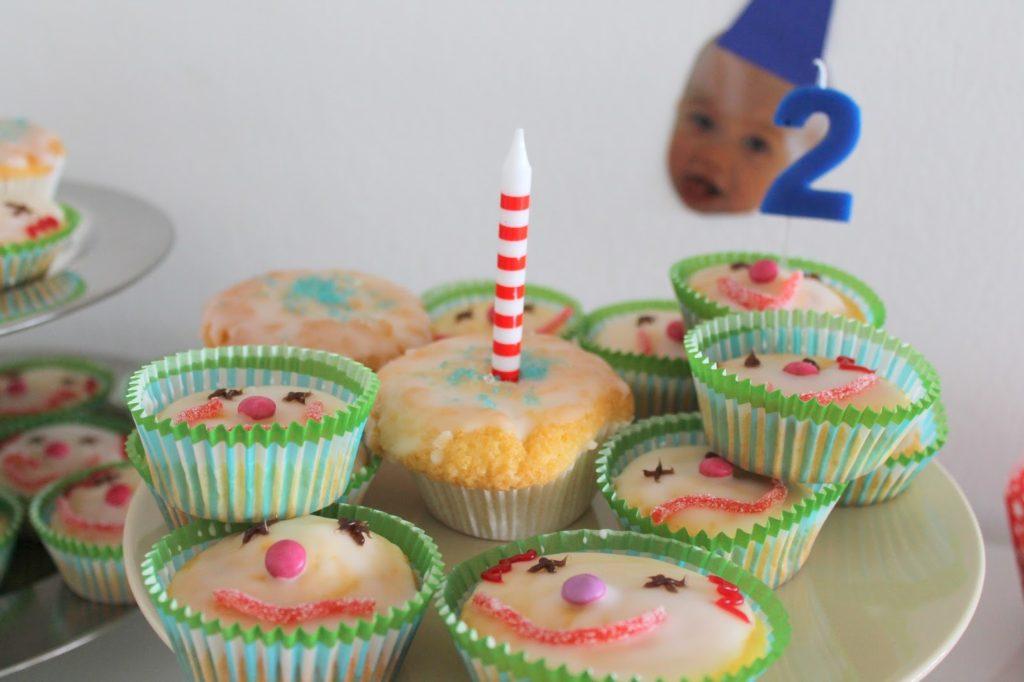 Clown Muffins Kindergeburtstag Zirkus Party