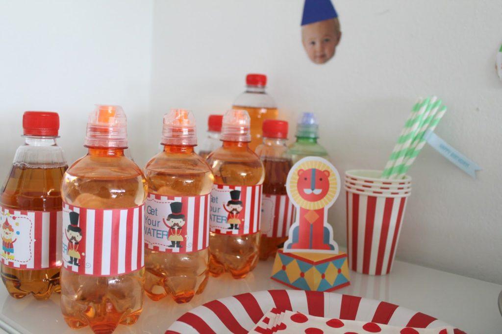 Zirkus Party Buffett