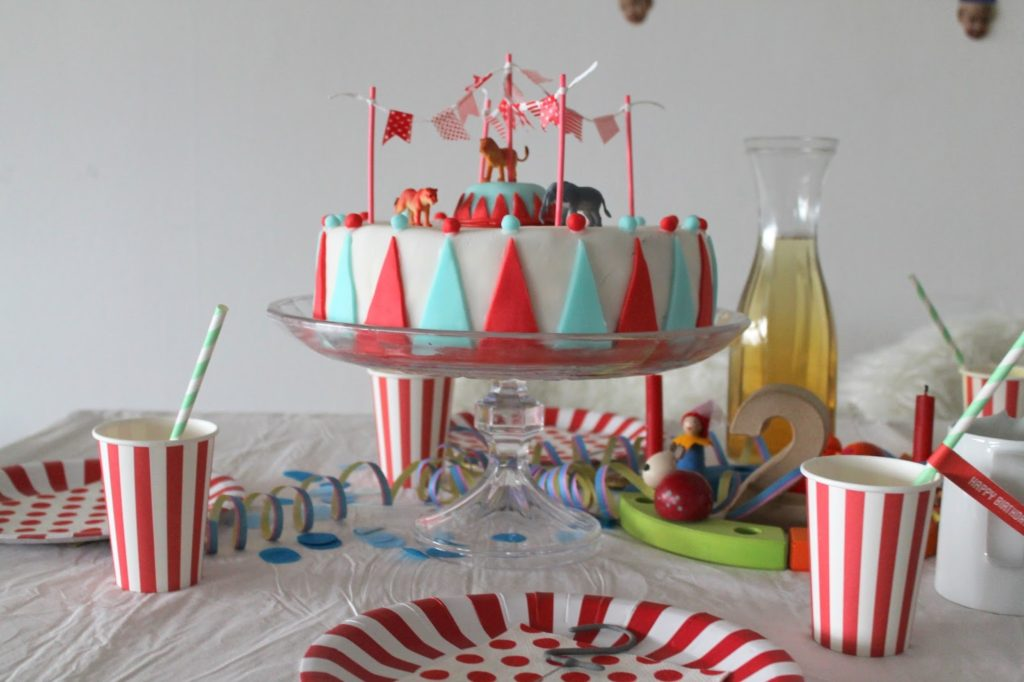 Zirkus Party Torte Circus Cake Birthday