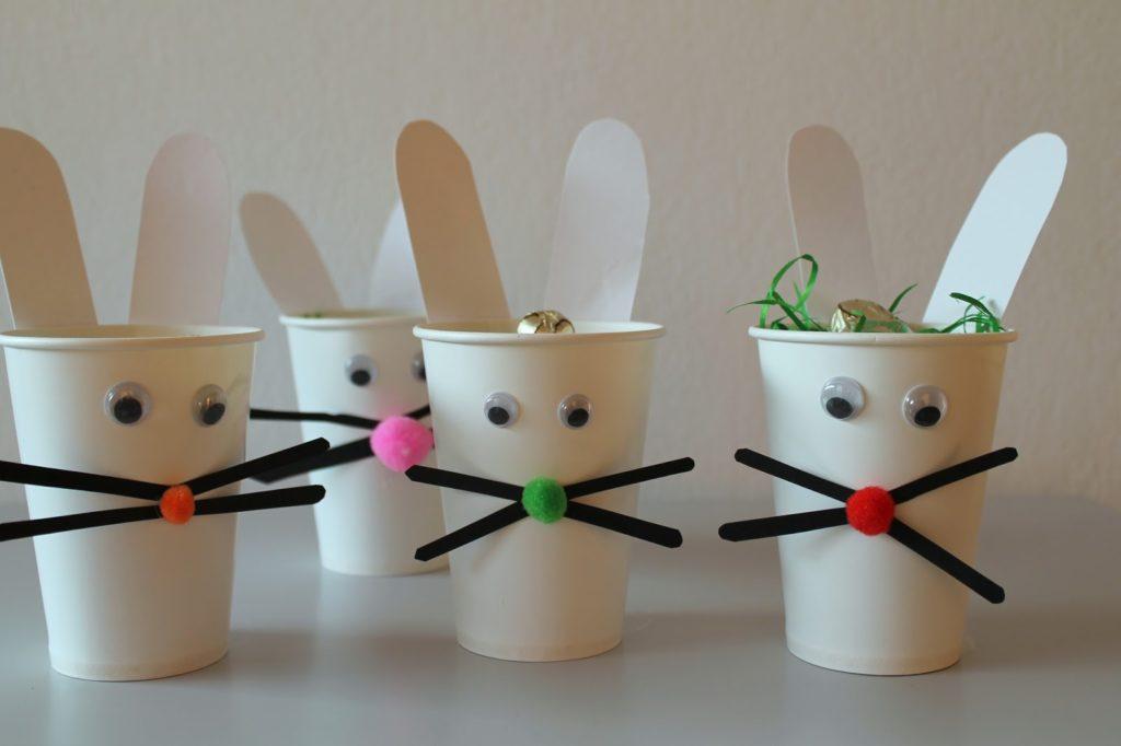 DIY Easter Kids Crafts easy bunny