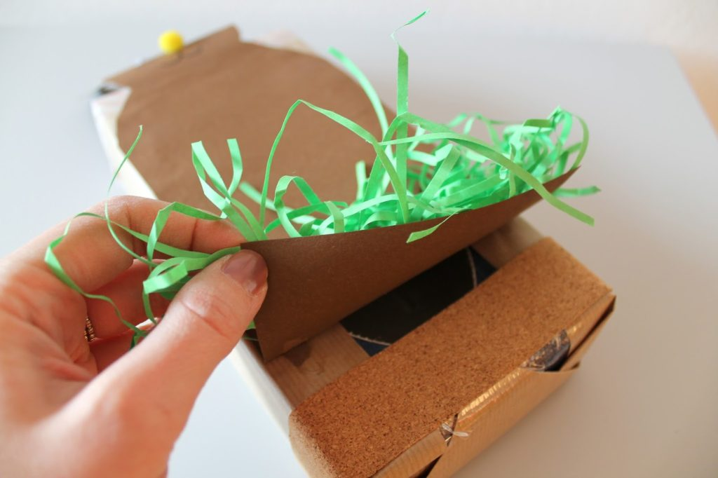Osterhasen Versteck DIY Kleenex Box