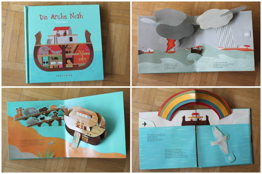 Arche Noah Pop-Up Buch Kinderbuchtipp Lieblingsbuch