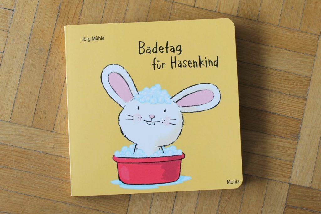 Badetag für Hasenkind Lieblingsbuch Kinderbuchtipp 2 Jaehrige