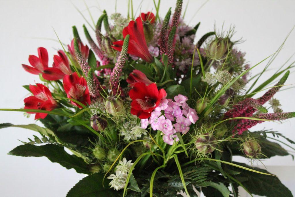 Sommerblumen Jules kleines Freudenhaus Flower Power Bloggers