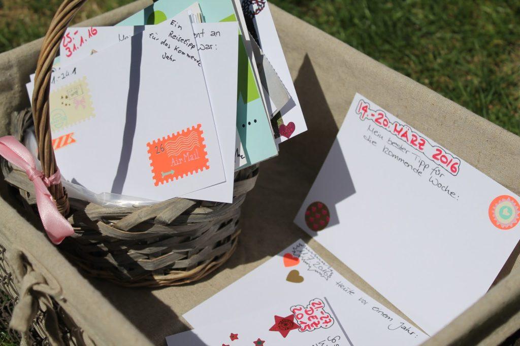Postkarten zur Hochzeit