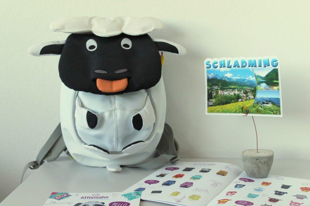 Schaf kleine Freunde Affenzahn Rucksack Kindergarten Begleiter Kinder