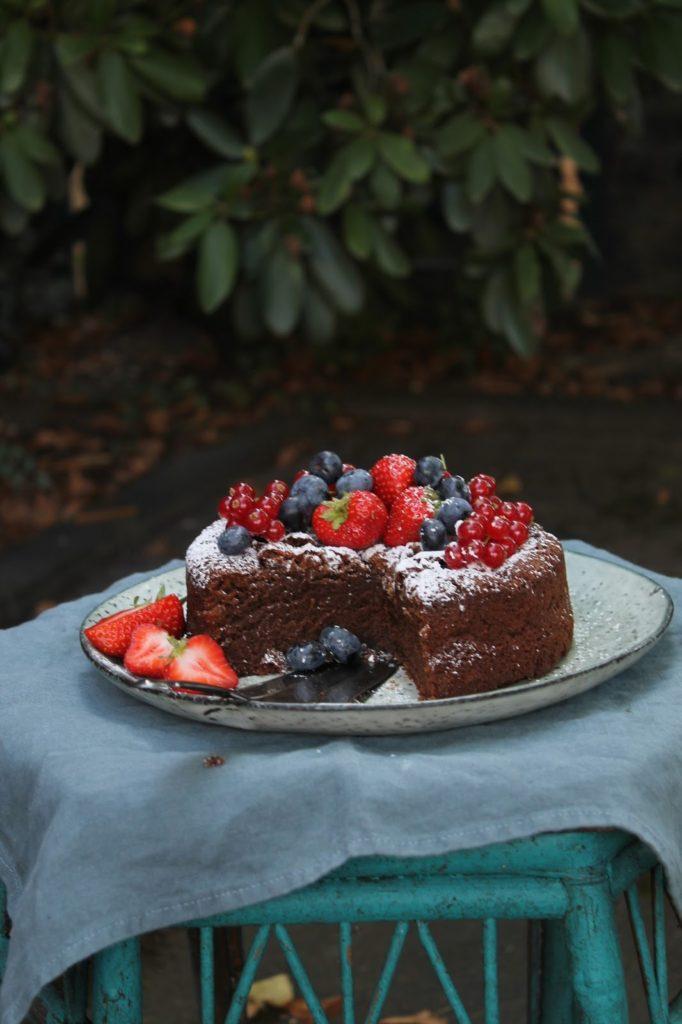 Kameraeinstellung Belichtungszeit besser fotografieren Kuchen Foto Workshop Berit