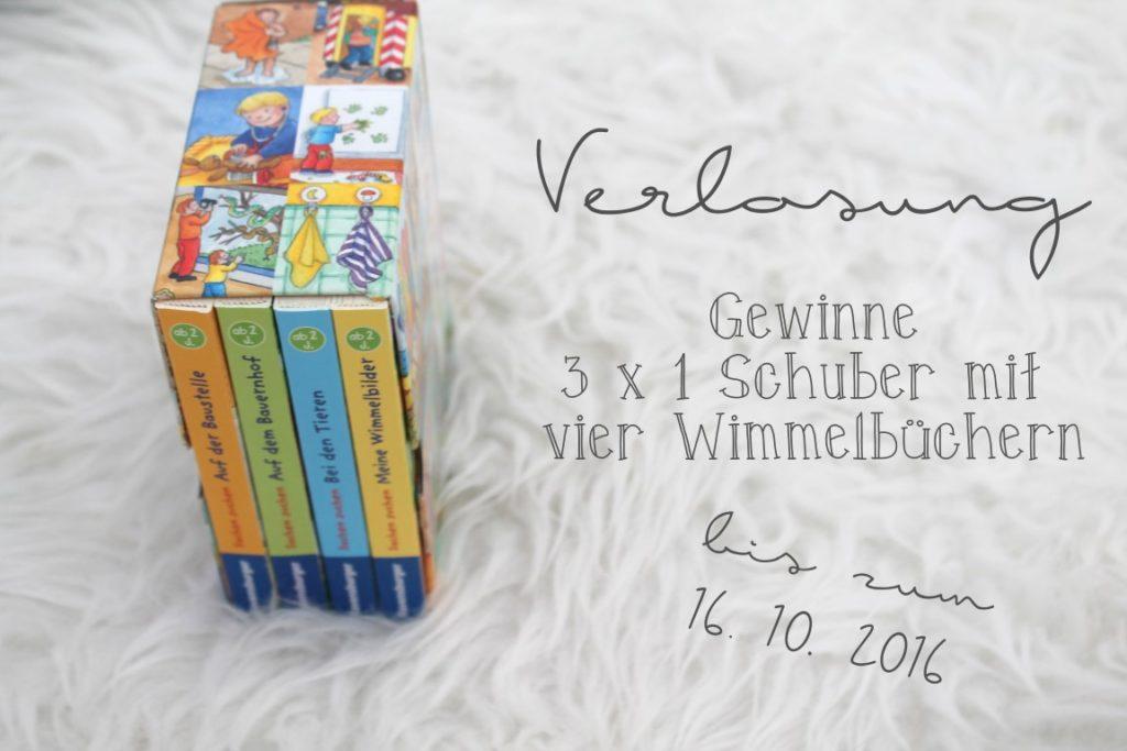 Verlosung Gewinnspiel Sachen Suchen Schuber Wimmelbuch Herbst Jules kleines Freudenhaus