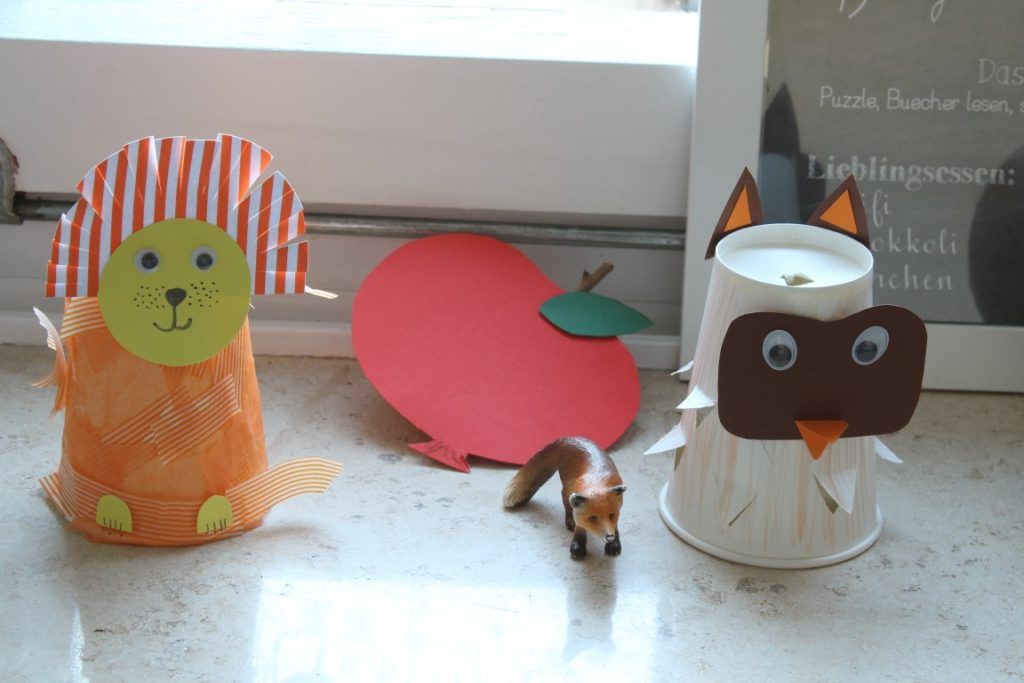 IKEA Kura Bett Hack Kinderzimmer Deko Laterne Loewe Eule Jules kleines Freudenhaus
