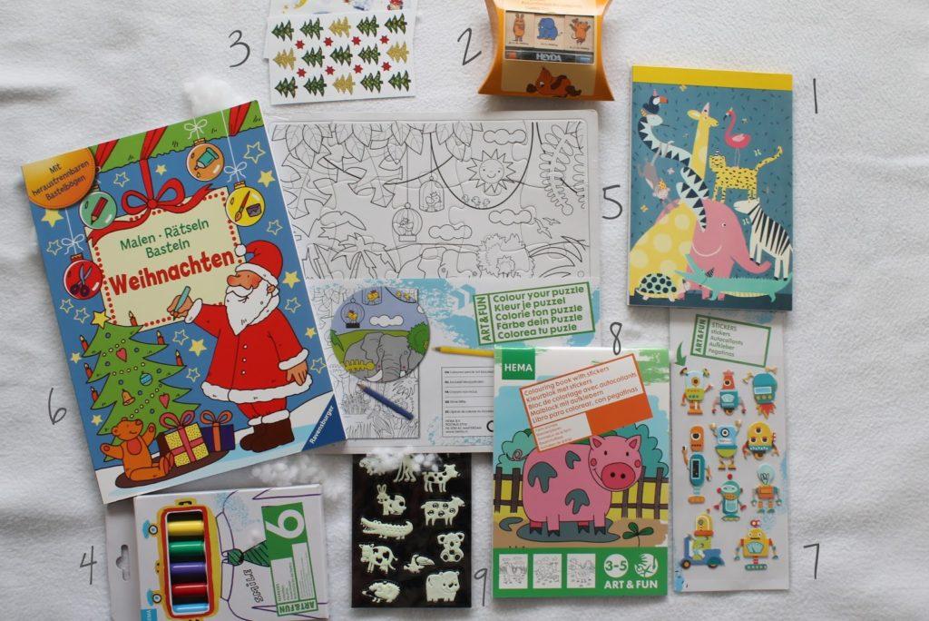 Ideen zur Adventskalender Befüllung für Kinder: 24 kleine und große Ideen