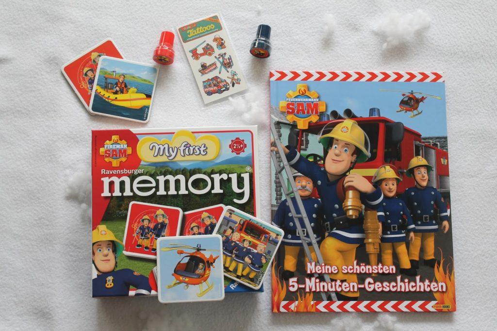 Feuerwehrmann Sam Geschenke Nikolaus Jules kleines Freudenhaus