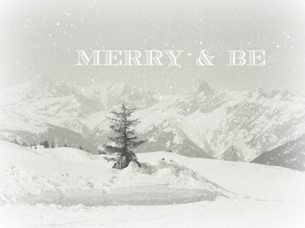 Merry and Be vorglitzern mit Frau Heuberg und New York Christmas