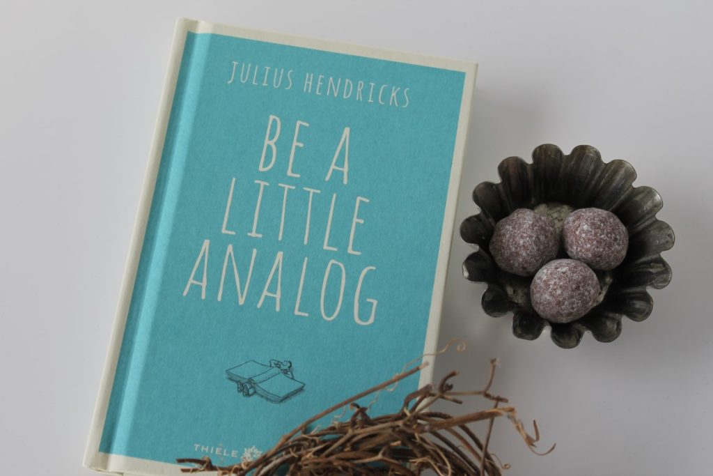 Analoges genießen collect memories not things Be a little analaog Buchtipp Entschleunigung Januar Jules kleines Freudenhaus