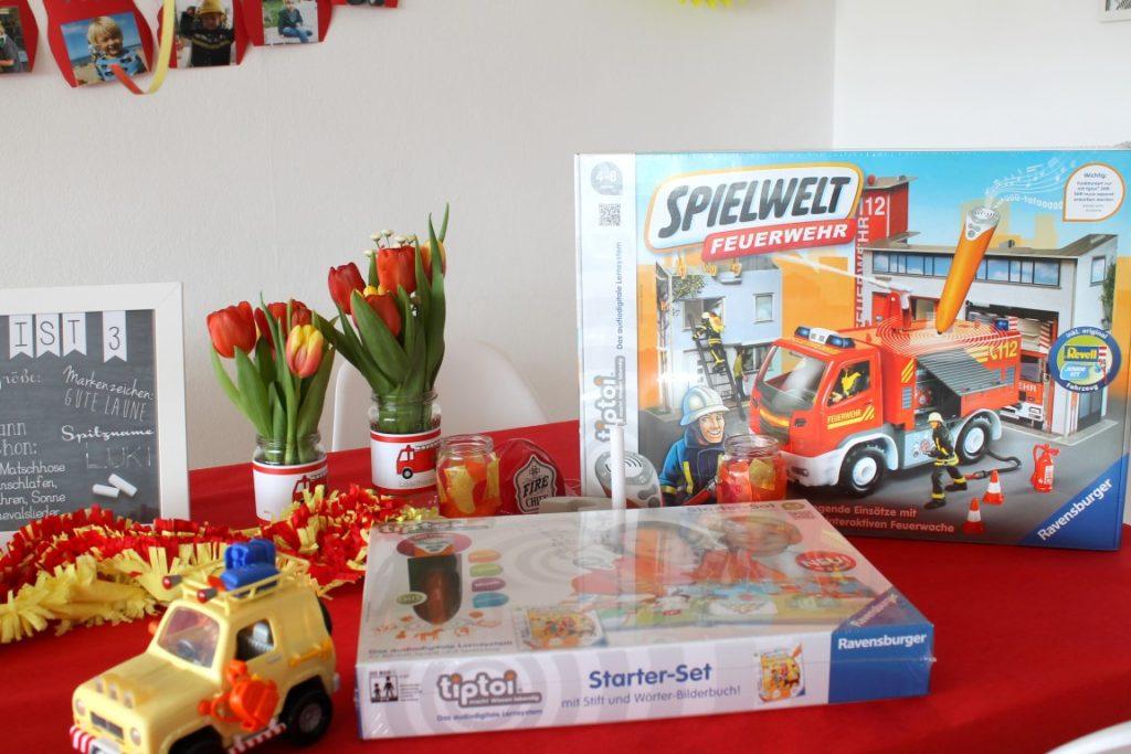 Feuerwehr Geburtstag Kindergeburtstag Feuerwehrmann Sam Jules kleines Freudenhaus Geschenkideen