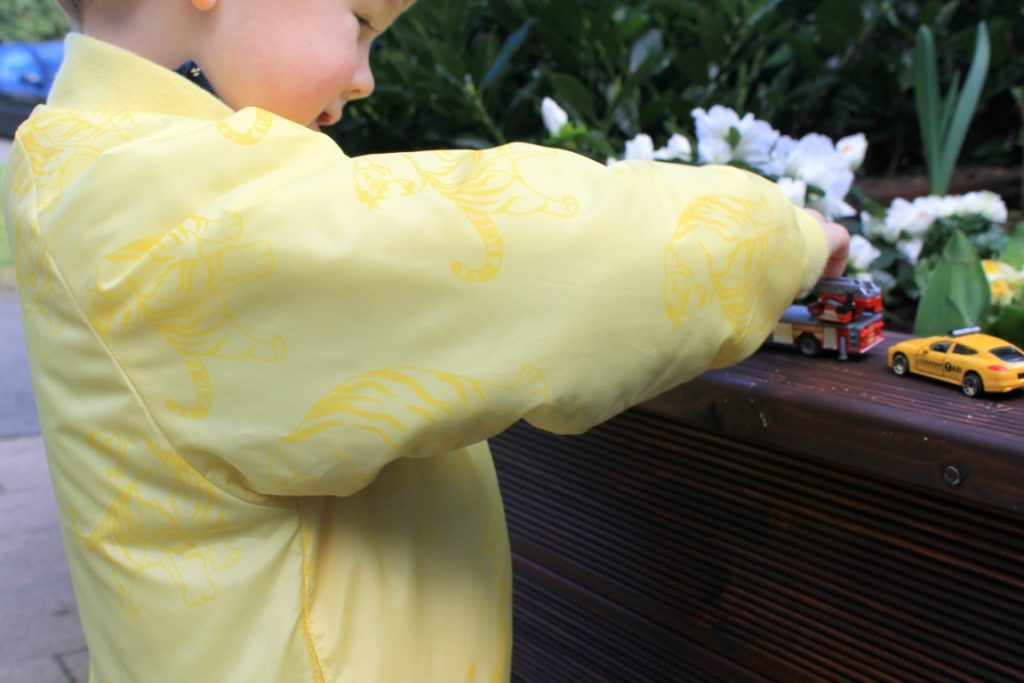 Smafolk Spring Collection Seson 2017 Boys Trucks Jacket Pineapple Tiger Jules kleines Freudenhaus Giveaway