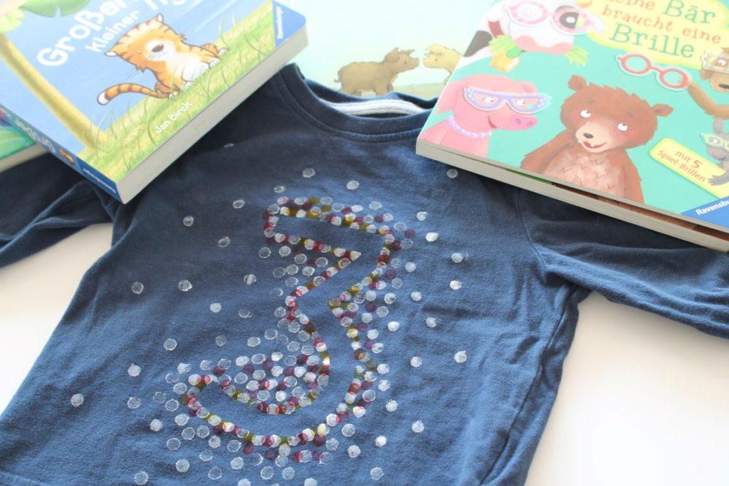 DIY Geburtstagsshirt Kinderbuch Neuheiten Ravensburger Geburtstag Jules kleines Freudenhaus